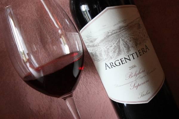Il Bolgheri Rosso Superiore Argentiera