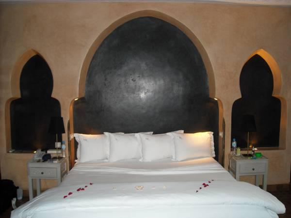 L´interno di una delle suite dell´El Miria Palais