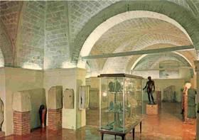 L´interno del Museo Archeologico