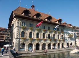 Il Municipio di Lucerna