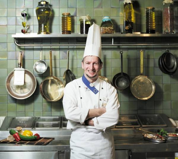 L´Executive Chef Paolo Sari