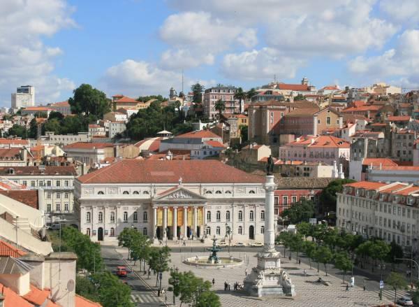 Lisbona, Praça Dom Pedro IV