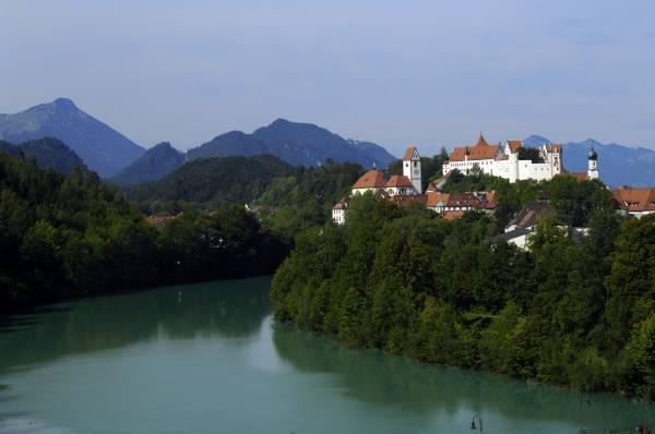Il fiabesco panorama su Füssen