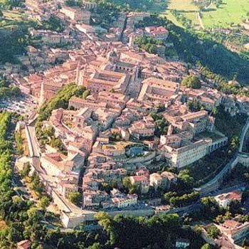 Urbino, città dichiarata dall´Unesco patrimonio dell´Umanità